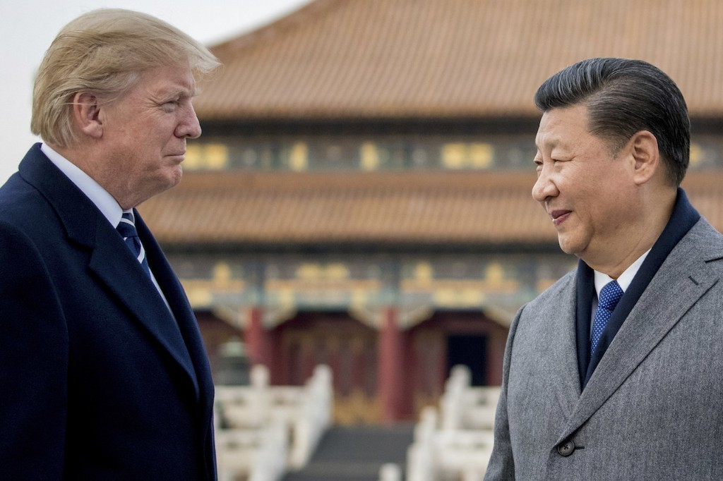 """President Trump Joked That Maybe The US Should Have A """"President For Life"""" Like China"""