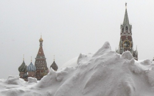 Recession looms for Russia as economy shrinks for first time since 2009