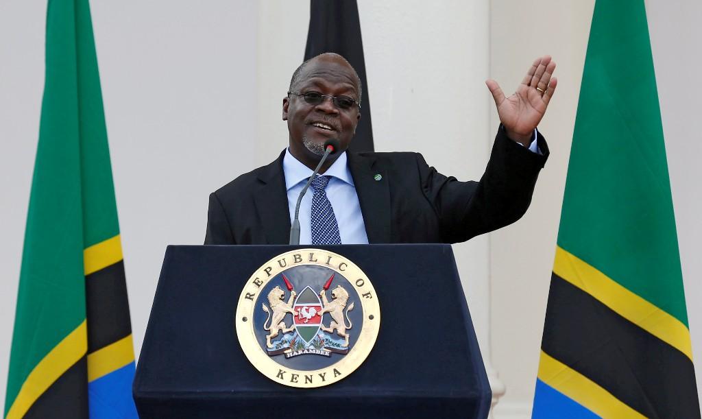 Tanzania's 'Bulldozer' president hopes mega-projects impress voters