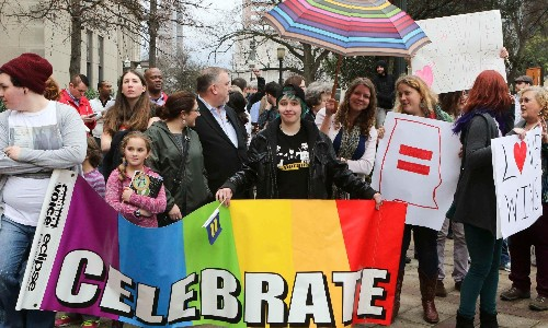 Gay adoption rights: ruling overturned by US supreme court in LGBT victory