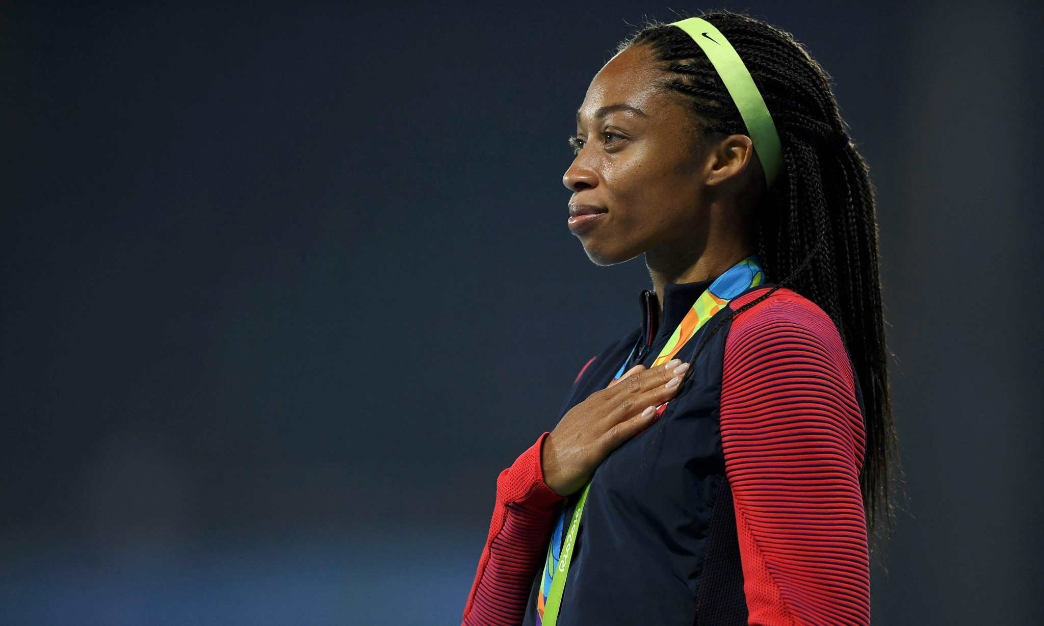 Glittering Allyson Felix signs off from Rio with another golden moment