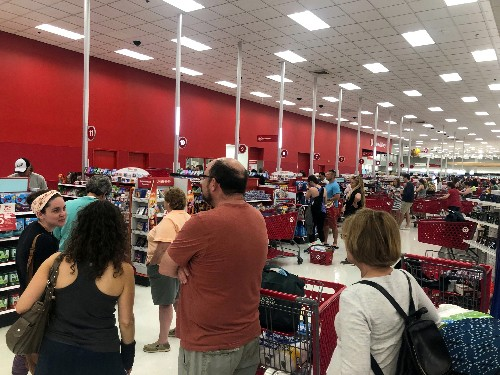 Target says registers back online, blames outage on technology issue
