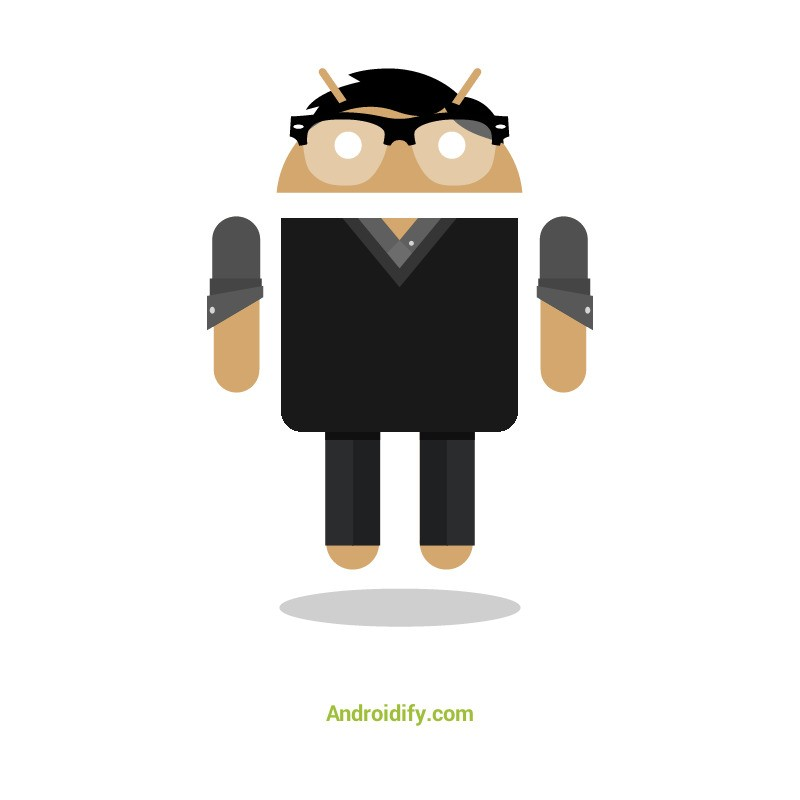 If I will be a Android, this is how most likely I might look like. Google Creative Labs Androidify for Android.