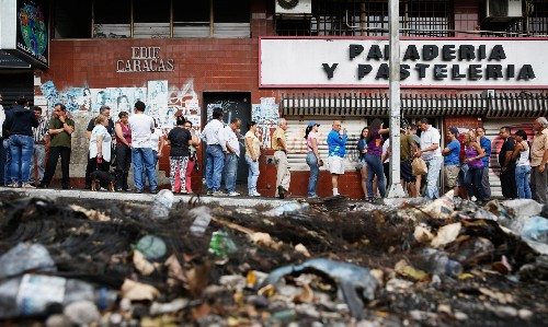 'We are like a bomb': food riots show Venezuela crisis has gone beyond politics