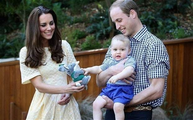 Duke and Duchess of Cambridge issue warning over intrusion into Prince George's privacy
