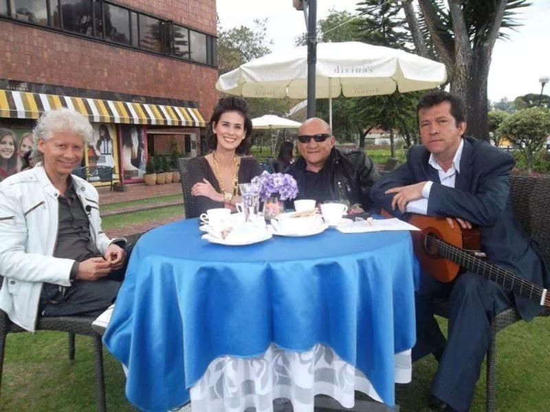 Con Galy Galiano y Carlos Franco en City Tv.