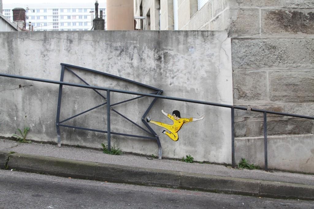 Snapshots: Saint Étienne's urban doodler with a sense of humour