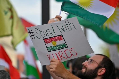 'We feel betrayed': Kurds in U.S. voice anger at Trump's troop pullback