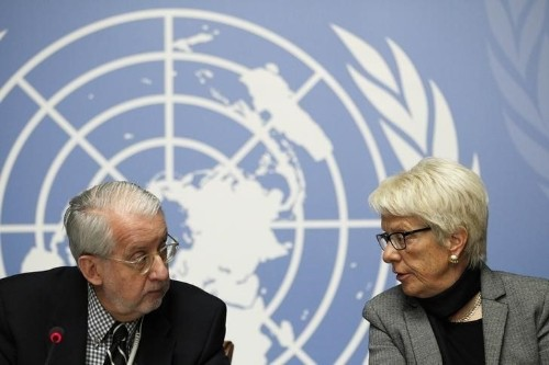 Mass deaths in Syrian jails amount to crime of 'extermination' - U.N.