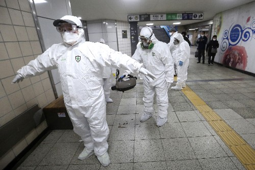 Virus cases balloon in S. Korea as outbreak shifts, spreads