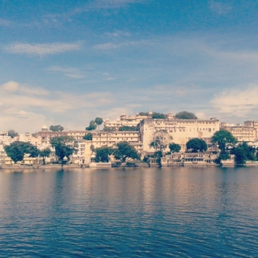 #beautifull_view of #city_palace from #amrai_ghat...