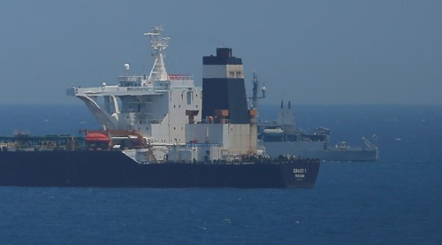 Gibraltar extends detention of Iranian tanker to August 15