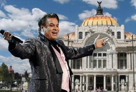 Así será el homenaje a Juan Gabriel en Bellas Artes