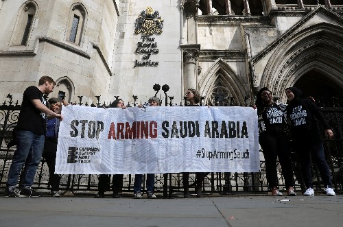 Britain acted unlawfully on Saudi arms exports, court rules