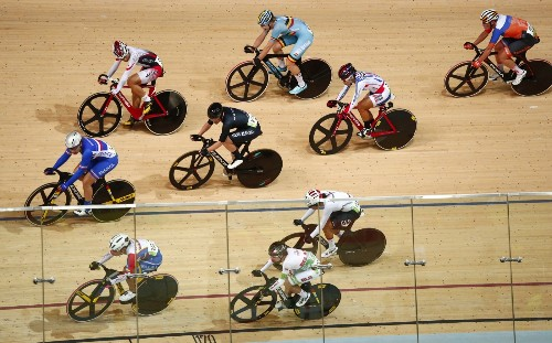 Track, Cycling and a Soccer Upset on Day 11 in Rio: Pictures