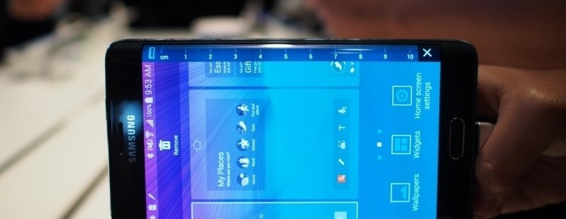 Samsung Galaxy Note Edge hands-on: Curved OLED never looked so cool