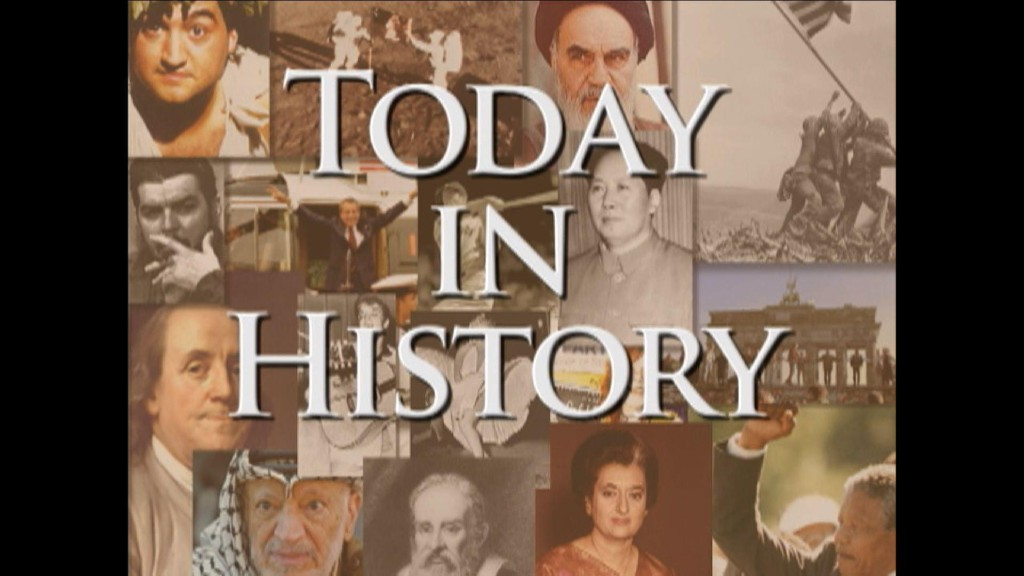 Today in History for October 25th