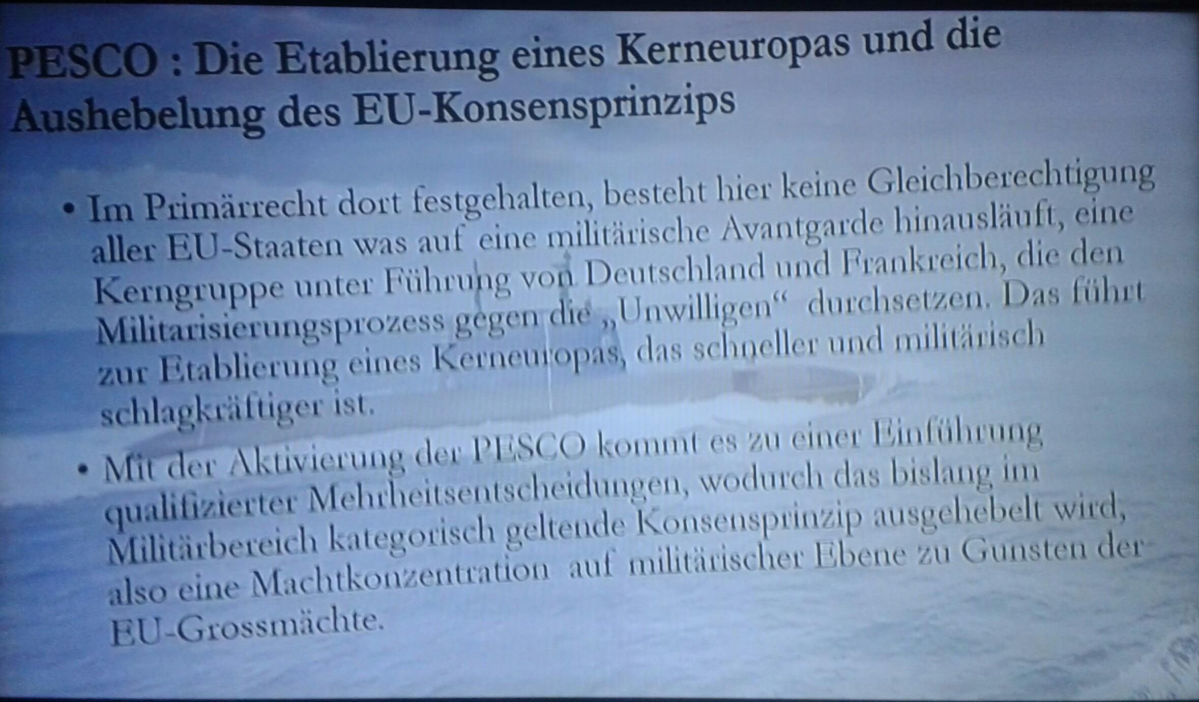 NATO, EU & PESCO