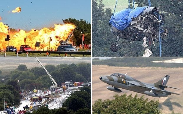 Shoreham Air Show plane crash: Jet 'appeared to be responding to the pilot's control', report says