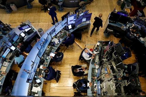 Bank stocks slip as borrowing costs rise, 10-year yields fall