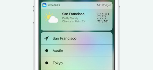 How to Use the New 3D Touch Functions for Home Screen Apps