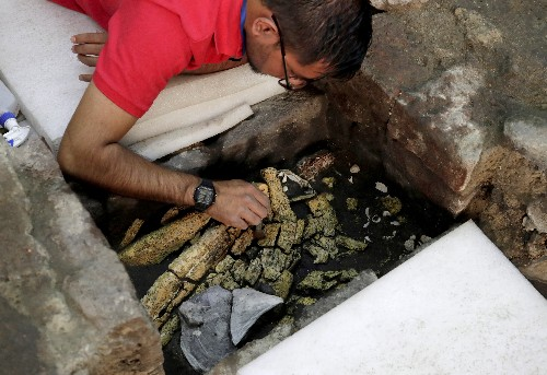 Exclusive: Aztec war sacrifices found in Mexico may point to elusive royal tomb