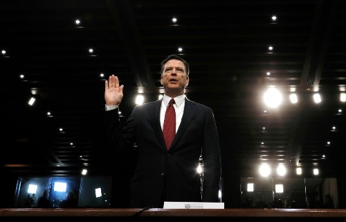 Comey Testifies Before Senate Committee: Pictures
