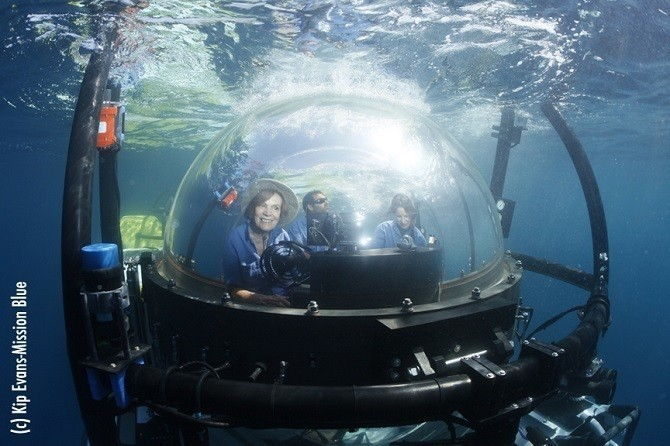 The Woman Who Has Spent Almost a Year of Her Life Underwater