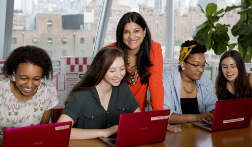 Girls Who Code Has Taught Nearly 10,000 Young Women... And It's Just Getting Started