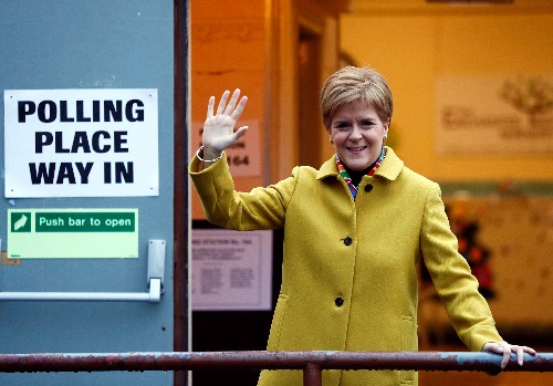 Scotland must be given new independence vote - Sturgeon
