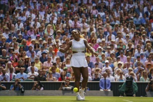 Serena, Halep cruise into Wimbledon final