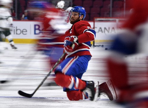 Canadiens strike quickly, shut out Wild