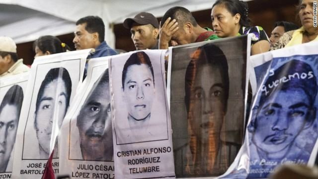 Remains could be those of 43 missing Mexican students