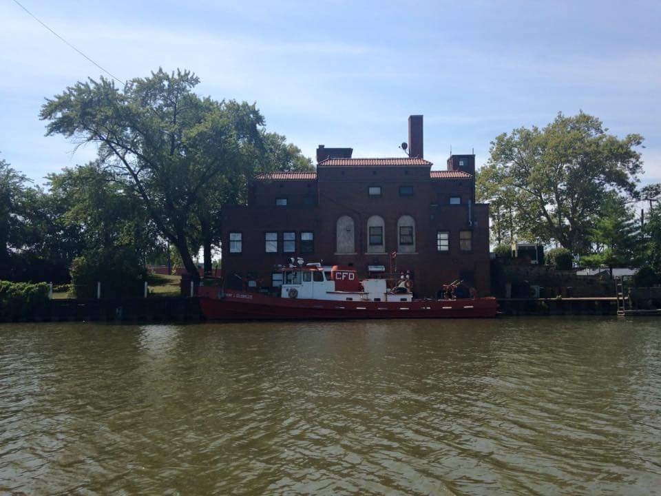 Cruising the Cuyahoga River