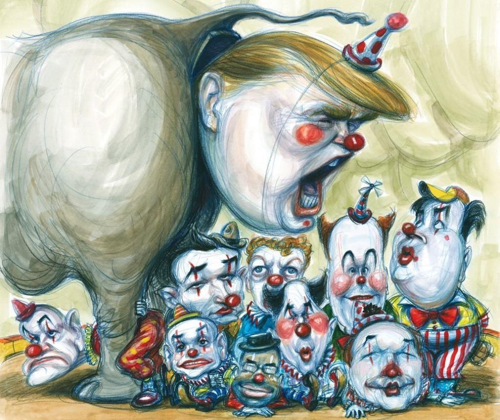 Inside the GOP Clown Car