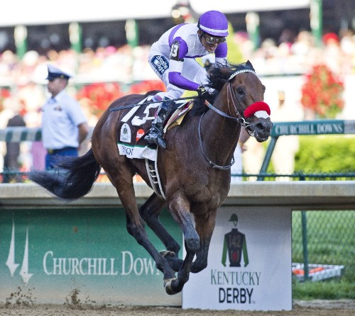 Nyquist Wins the Kentucky Derby: Pictures