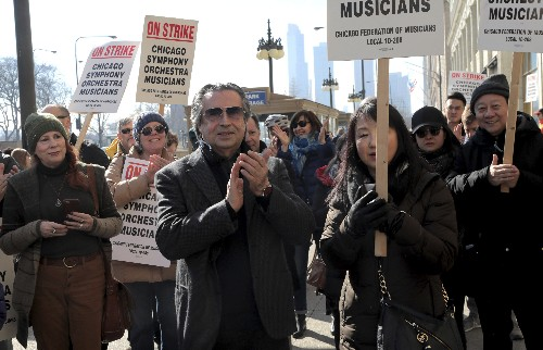 Chicago Symphony musicians' strike over wages, pension