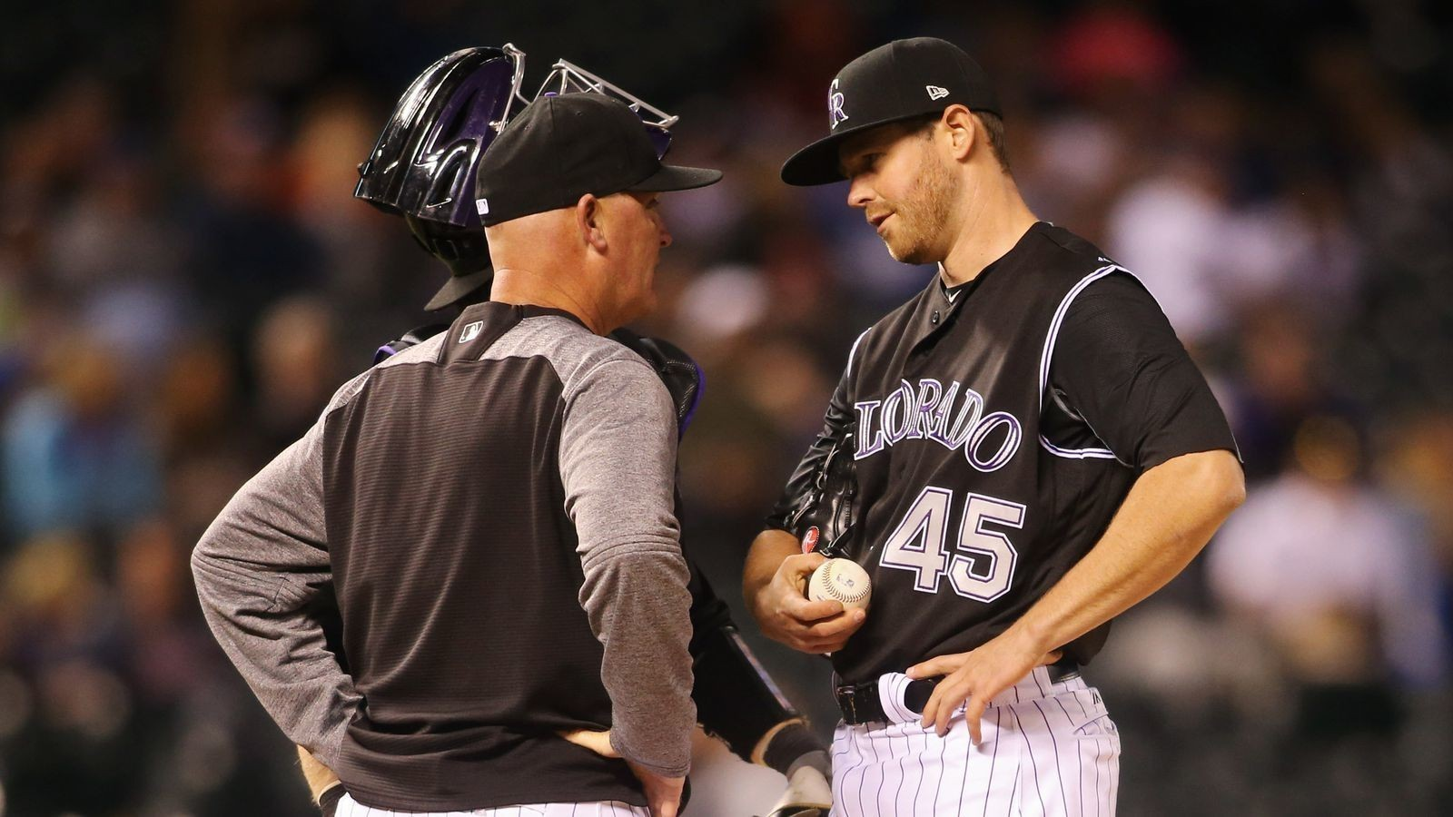 Colorado Rockies pitching coaches Steve Foster, Darren Holmes guiding young staff to a strong start in 2017