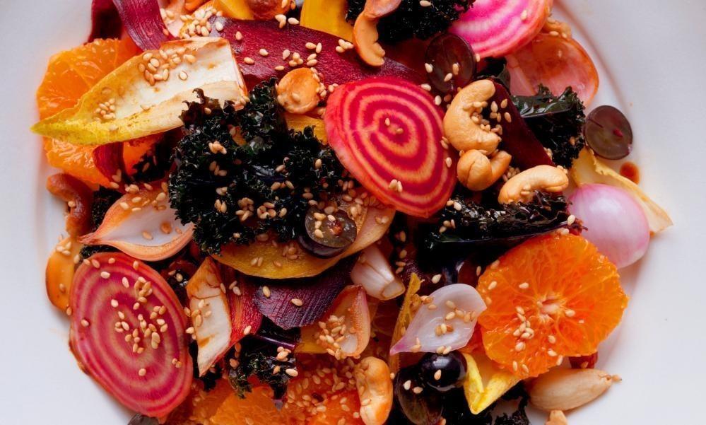 Nigel Slater's vegetarian Christmas recipes