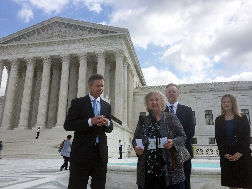 Supreme Court sympathetic to Pa. woman in cemetery case