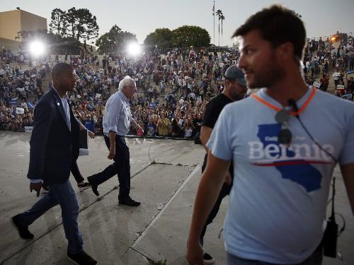 Sanders, Harris set for showdown in delegate-rich California