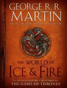 The World of Ice and Fire - Magazine cover