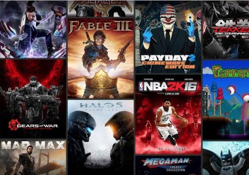 微软推出 Xbox Game Pass 游戏包月玩服务