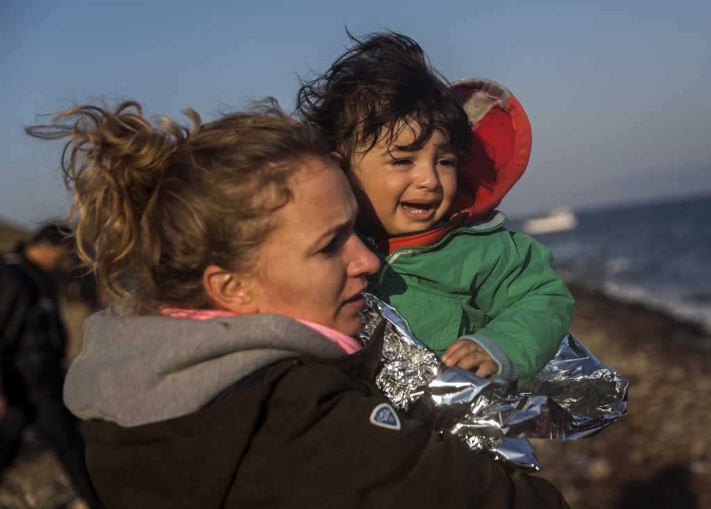 Migrants Continue to Arrive in Greece: Pictures