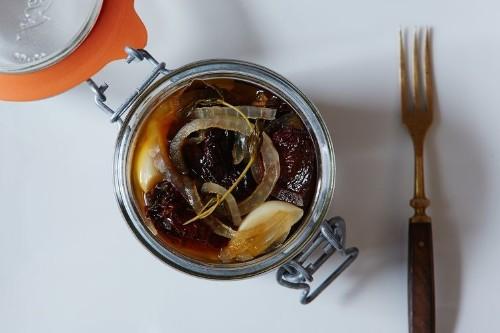 Sweet Pickled Chipotles, Just Like the PilgrimsAte