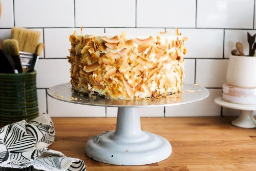 A Classic Cake with Coconut in All the Right Places