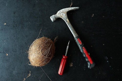 How to Crack and Use a WholeCoconut