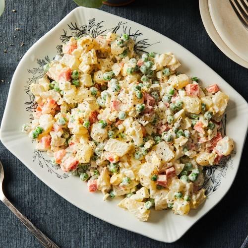 Ukrainian Salat Oliviye Recipe - Russian Potato Salad