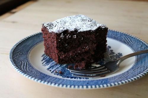 "Vegan Chocolate Cake (""Chocolate HappyCake"")"