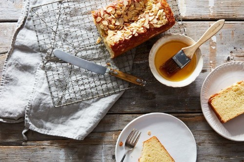 Almond Cake with Orange-Flower WaterSyrup